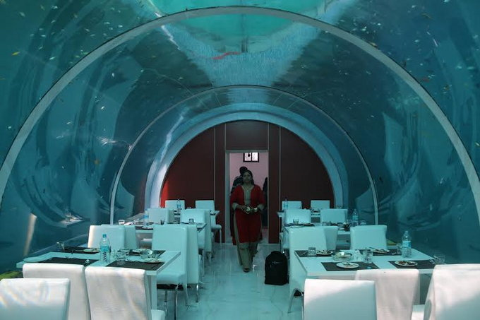 real underwater hotel. So You Must Go And Experience The Uniqueness Of This Restaurant In Your Life. Real Underwater Hotel
