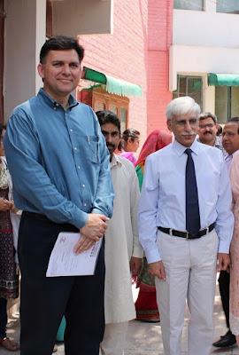 Dr Ali Hashmi With Dr Faisal Masud