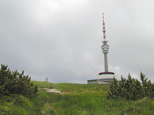 Wieża RTV na Pradziadzie.