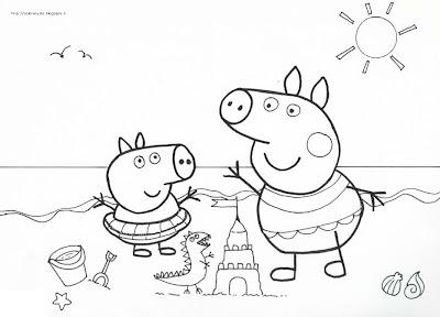 Immagini di peppa pig da colorare for Peppa pig da stampare