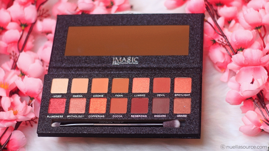 14 color eyeshadow palette shades imagic