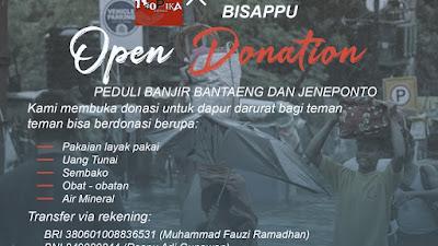 Kopika bersama KKN 99 Bisappu Galang Donasi Bantu Sesama