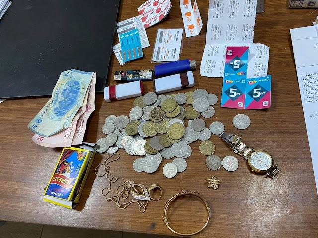 المهدية : القبض على سارق أموال ومصاغ بقيمة 5000 دينار
