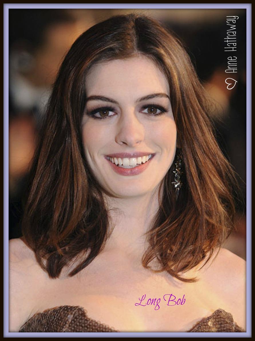 Anne Hathaway Medium Length Hair