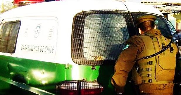 Vehículos de Carabineros en mal estado en Purranque