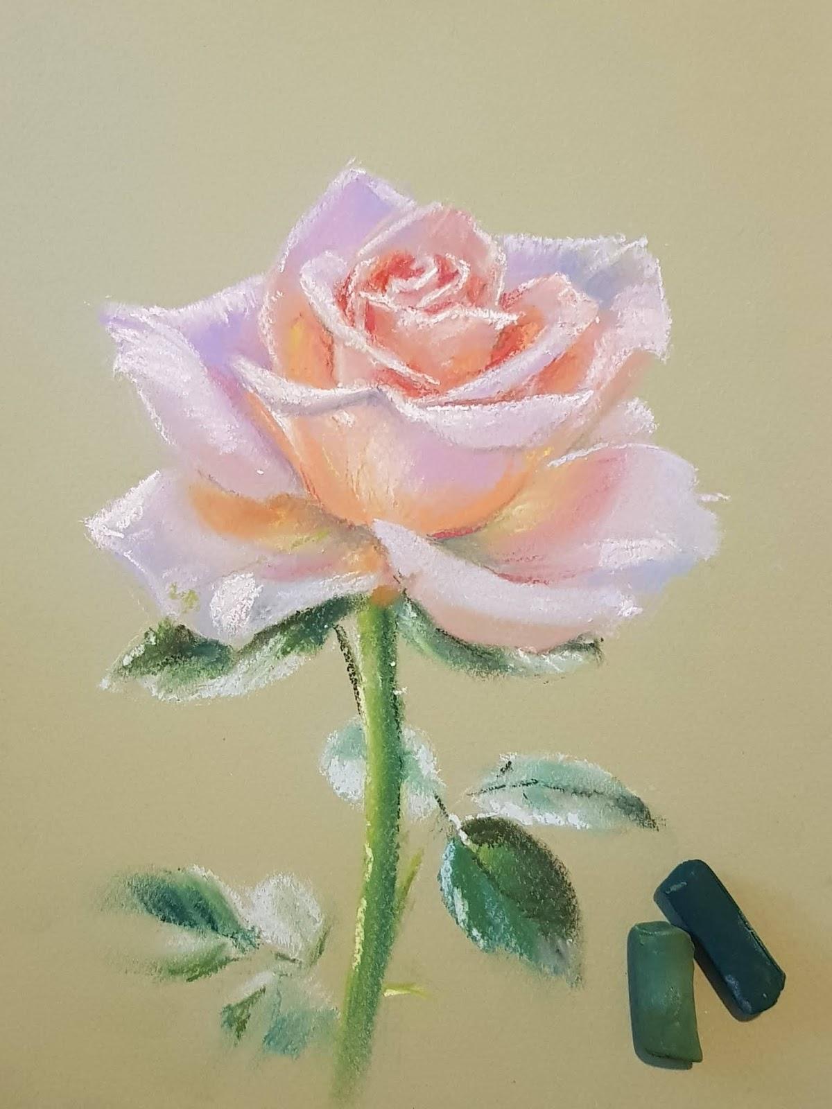 Картинки нарисовать пастелью