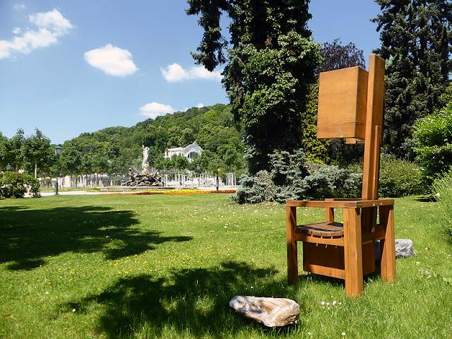 Der Lauscher dans le Kurpark de Baden / photo S. Mazars