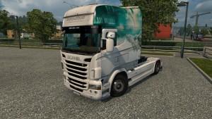 RS EXC Longline Sensation skin for Scania RJL