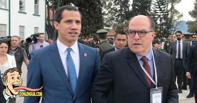 Julio Borges le pide a Juan Guaidó que rinda cuentas acerca de los fondos públicos