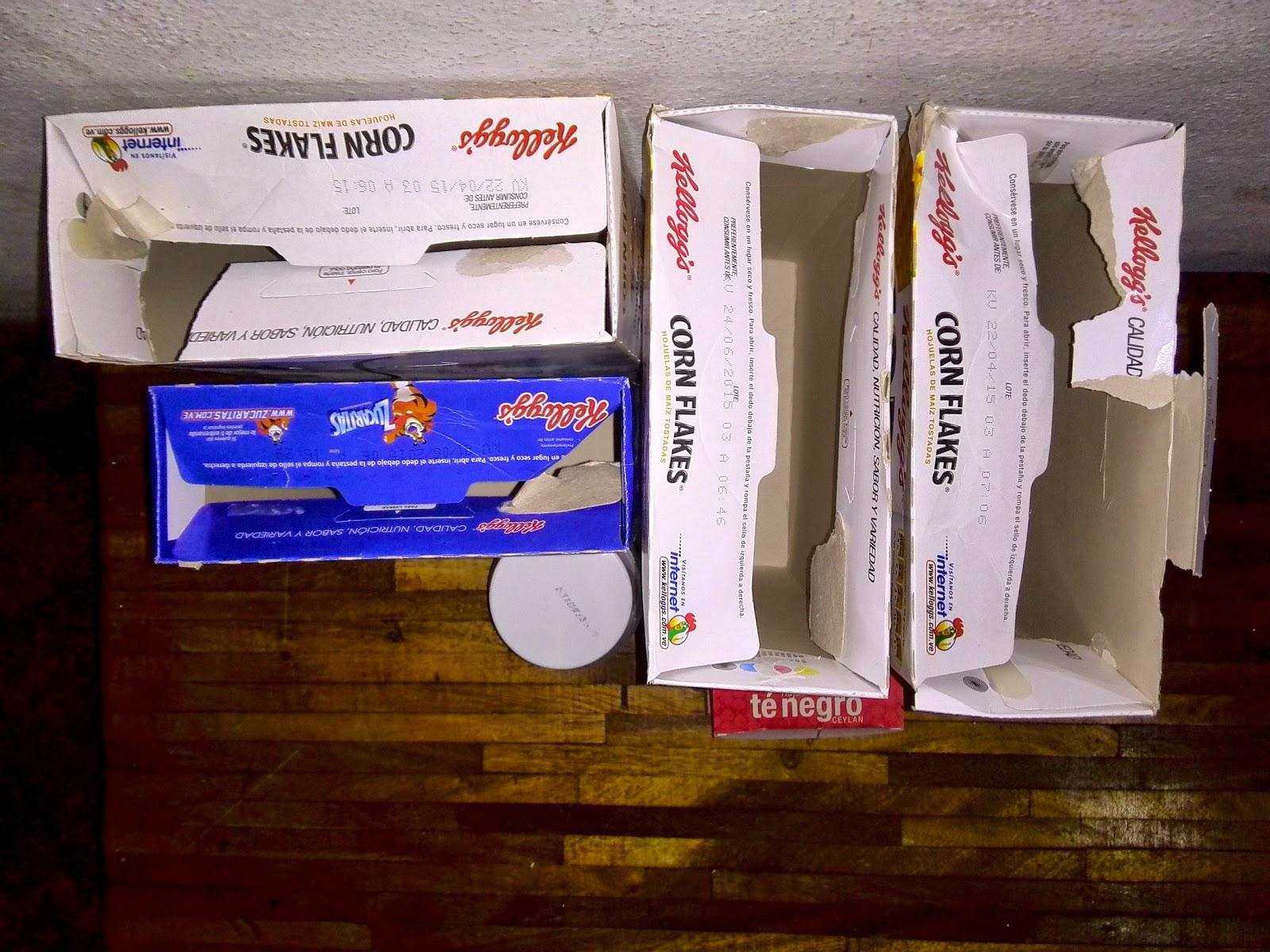 Manualidades para hacer con cajas de corn flakes - Manualidades con cajas ...