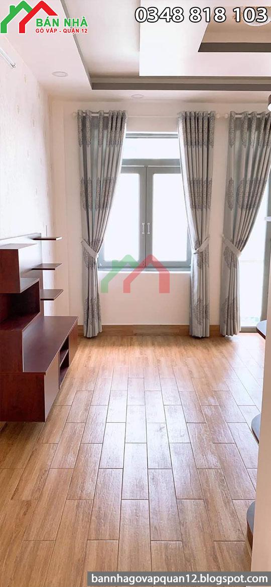 Phòng ngủ có sàn gỗ