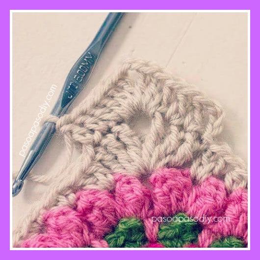 tejer un granny al crochet