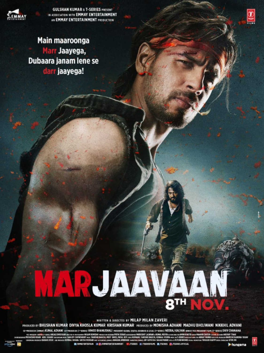 Download Marjaavaan 2019 Full Movie Download 720p 480p New Hindi Movies Hd Download For Free