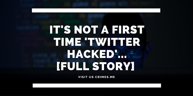 It's not a first time 'Twitter Hacked'...[Full Story]
