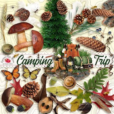 Camping Trip Nature Set