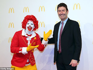 McDonald's CEO fired for relationship