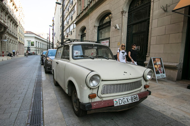 Trabant a Budapest