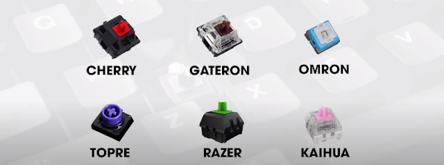 Một số hãng sản xuất switch bấm
