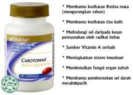 Supplement untuk mata, carotomax