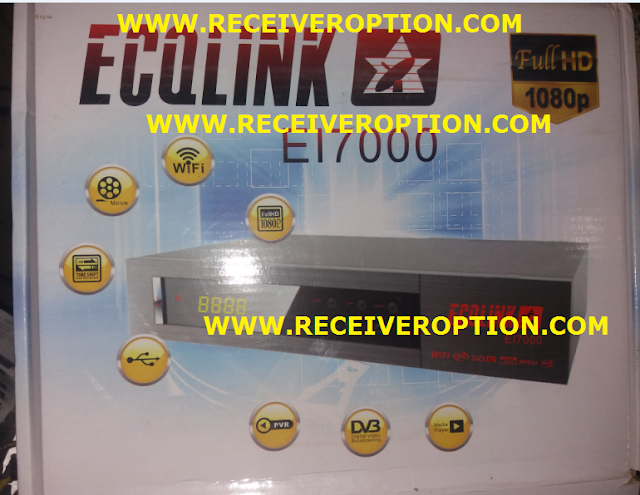 ECQLINK EI7000 HD RECEIVER FLASH FILE