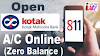 kotak mahindra bank account opening online