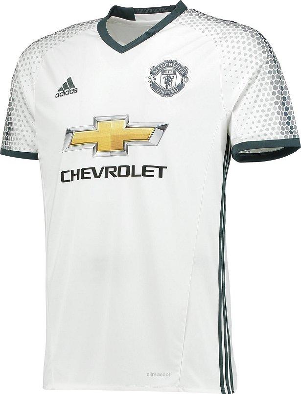 d4dbd06345 Adidas lança a terceira camisa do Manchester United - Show de Camisas