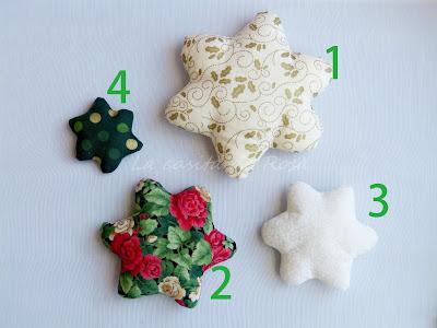 Arbolito de Navidad en 4 piezas