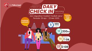 Daily Check In Telkomsel Hilang, Jangan Lupa Tukar STAMP