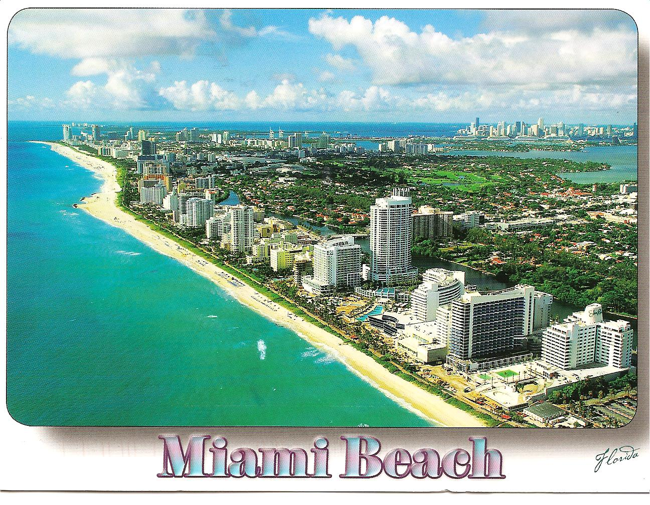 Well known MY POSTCARD-PAGE: USA ~Miami Beach~ EG09