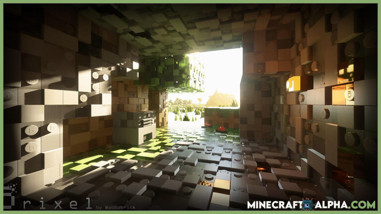 Minecraft Brixel Resource Packs For 1.17.1