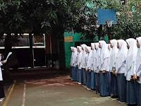 Pelajar SMA Al-Muhajirin Menggelar Deklarasi Anti Tawuran