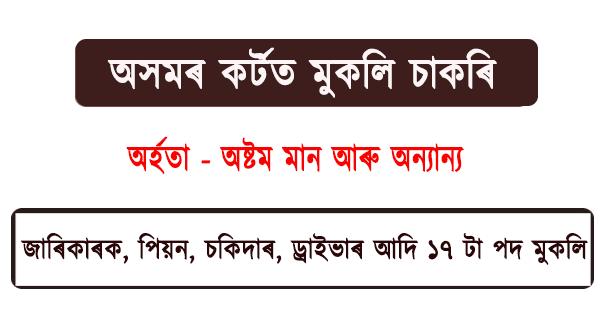 Jobs in Assam Court