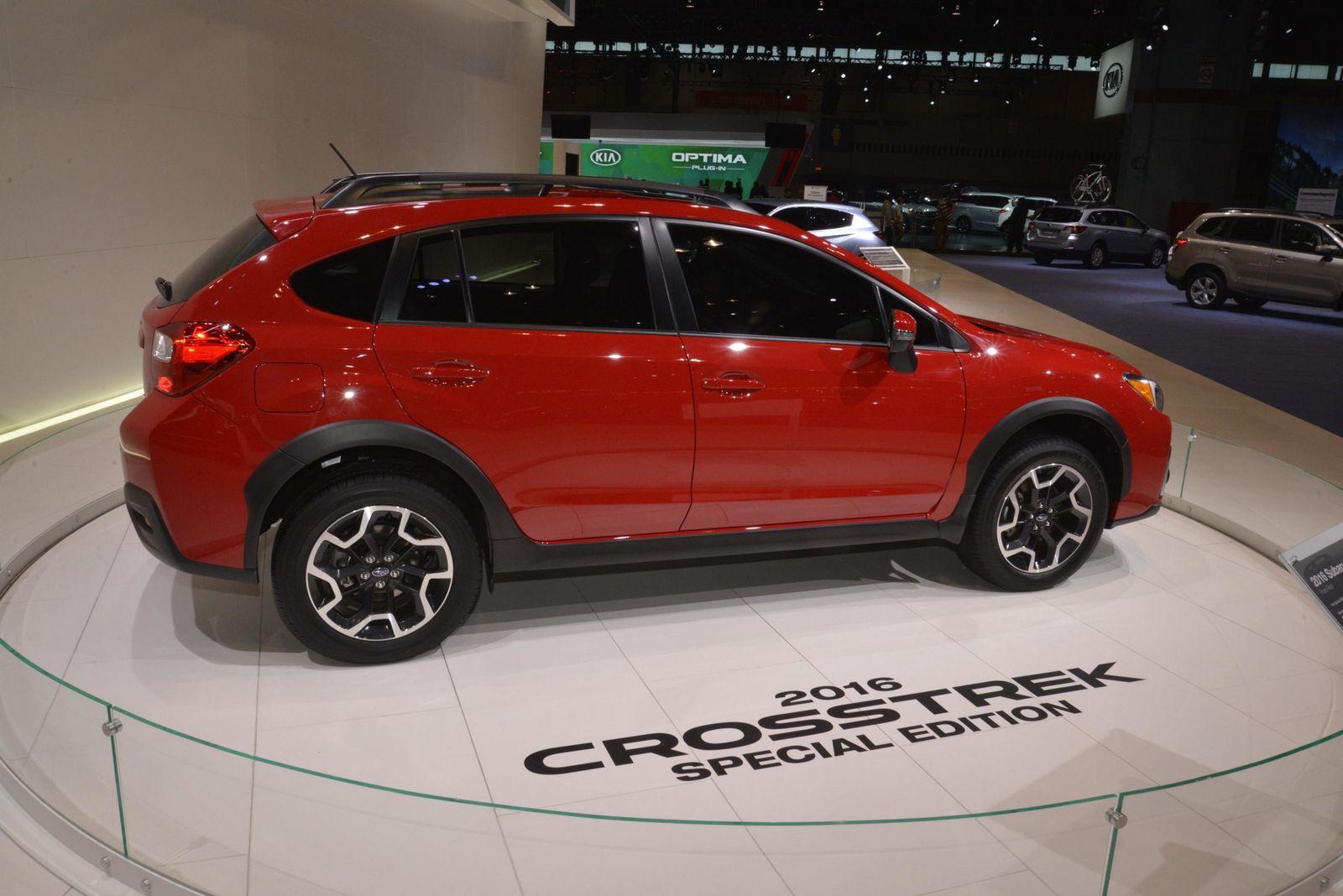 Subaru XV Crosstrek Special Edition Hides Between Concepts