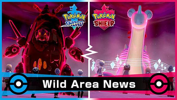 Pokémon Wild Area Gigantamax