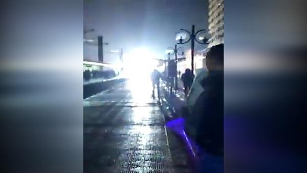 ننشر أول مقطع فيديو حريق متروا المعادي اليوم الإثنين 12-2-2018