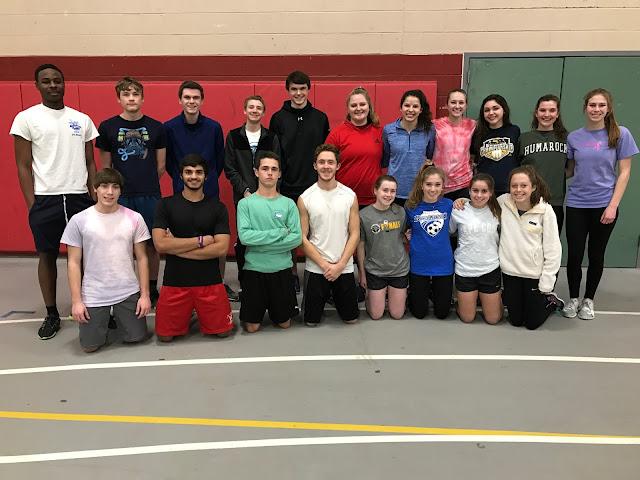HHS track team