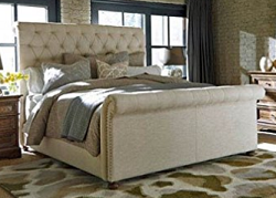 Bohemian Style Queen Bed