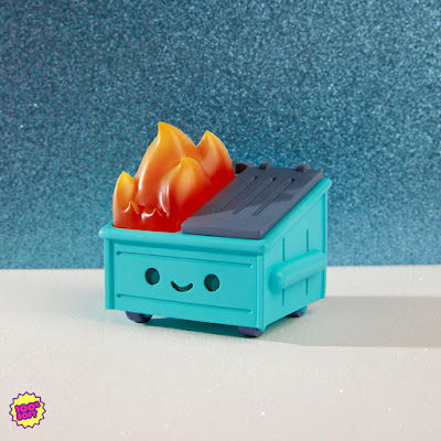 San Diego Comic-Con 2019 Exclusive Dumpster Fire Resin Figure by 100% Soft