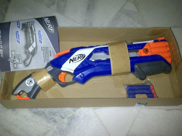 N-Strike Elite Rough Cut 2x4 already for sale in Malaysia, shows Slamfire and Internal Photos
