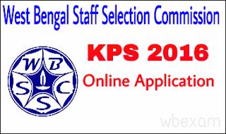WBSSC KPS 2016 examination