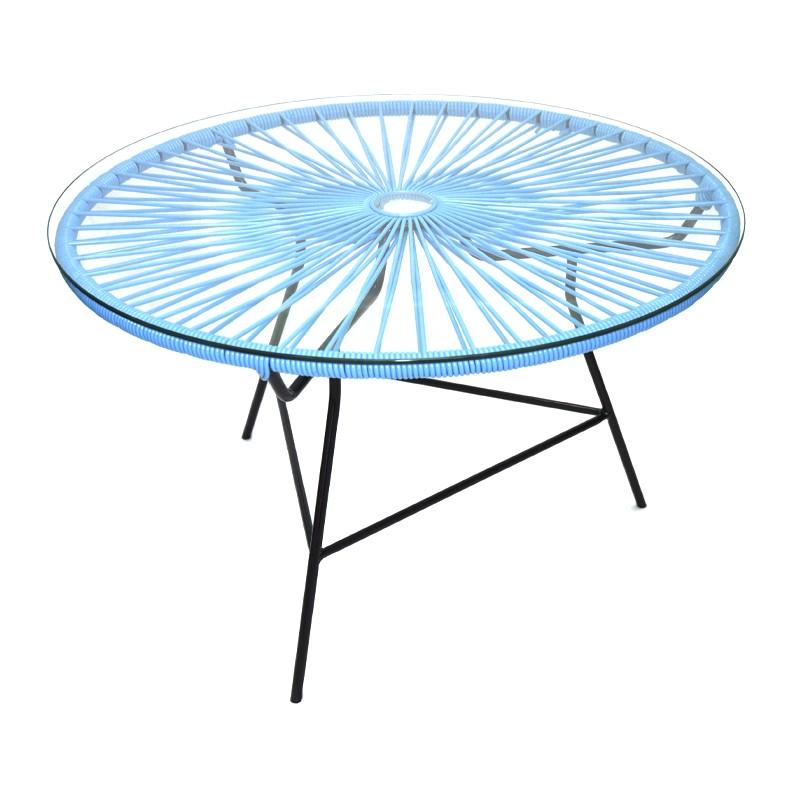 mobilier scoubidou tables. Black Bedroom Furniture Sets. Home Design Ideas
