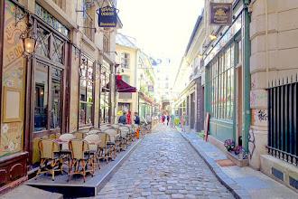 Paris : Cour du Commerce Saint-André, Moyen-âge, Siècle des Lumières, Révolution et Belle Epoque, un concentré d'histoire - VIème