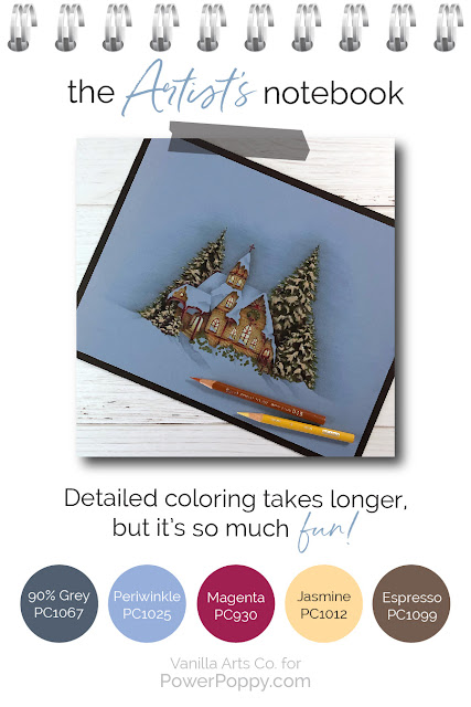 What makes Artistic Coloring different than standard Copic coloring? Guest author Amy Shulke from VanillaArts.com tells you more. | PowerPoppy.com | #realistic #howtocolor #copic