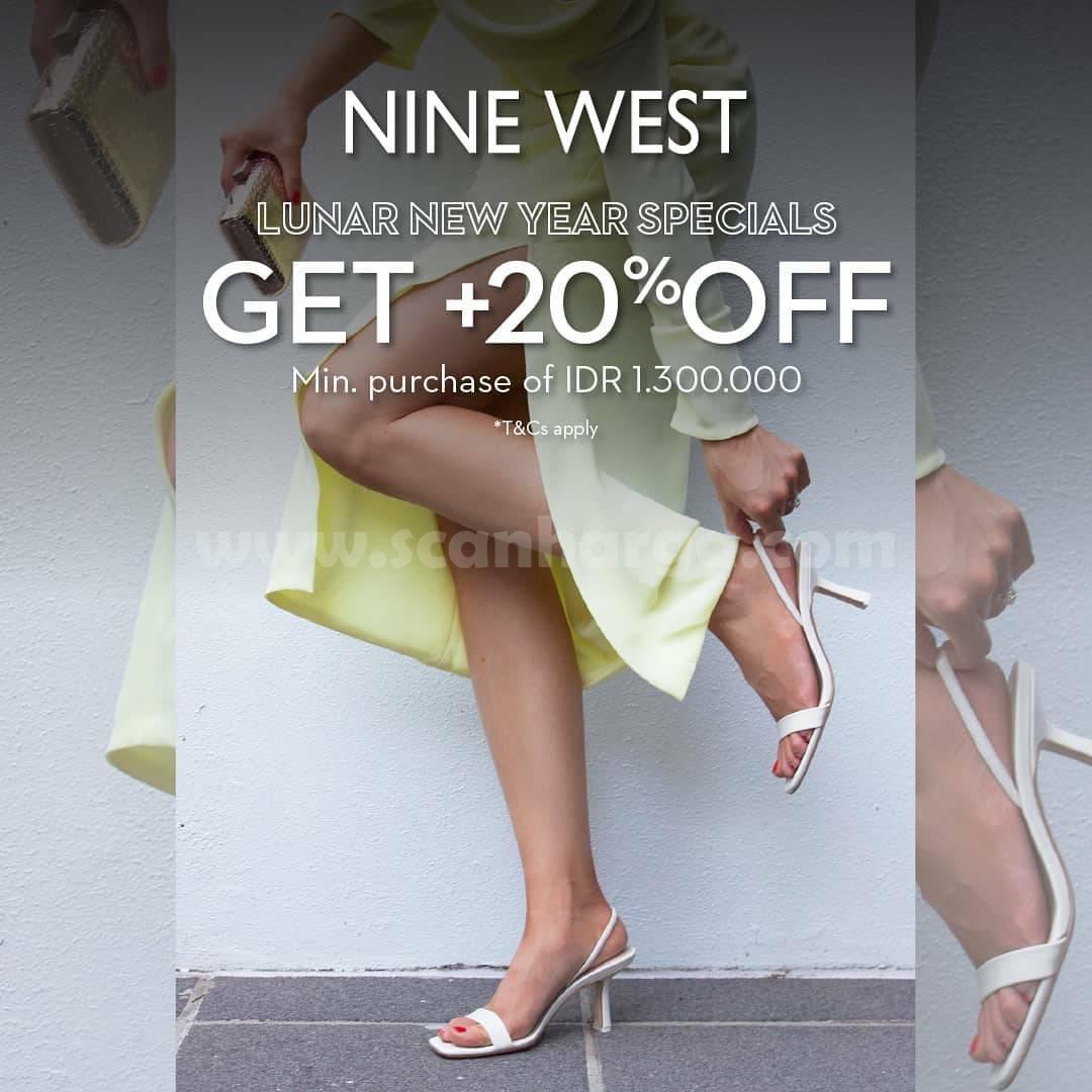 NINE WEST Promo LUNAR NEW YEAR! Get Discount 20% Off
