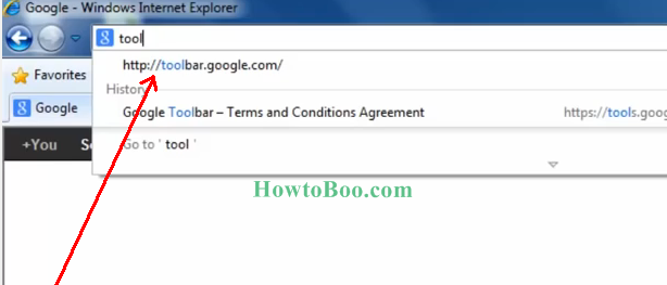 How To Add/install Google Toolbar In Internet Explorer 8/9