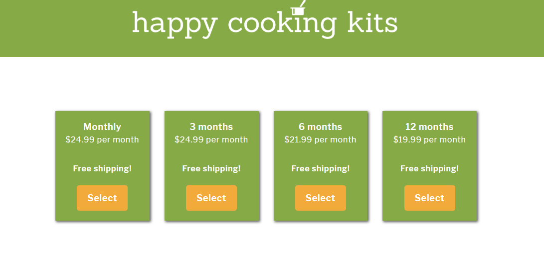 Kidstir happy cooking kits pricing #ad