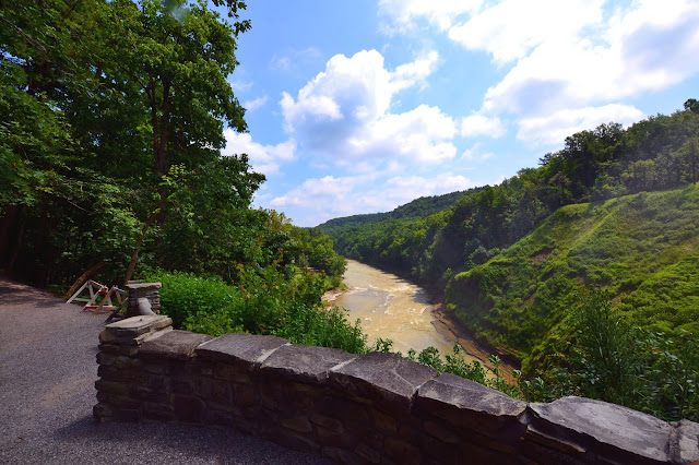 Genesee River Gorge Trail Letchworth State Park New York