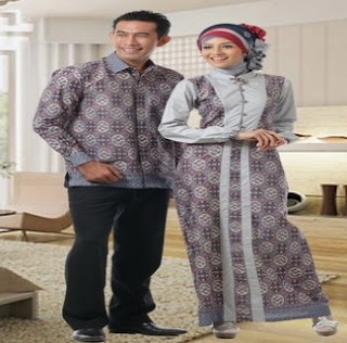 Batik Couple Pesta Modern