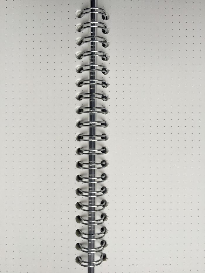 Dotted notebook Muji Japanese brand