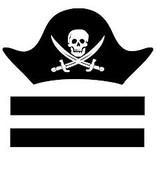 free printable pirate hat